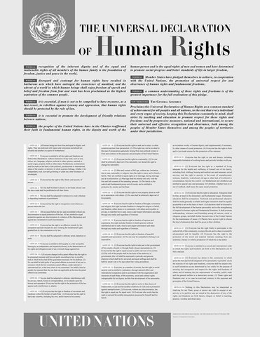 POSITIVE   The Universal Declaration of Human Rights (UDHR)