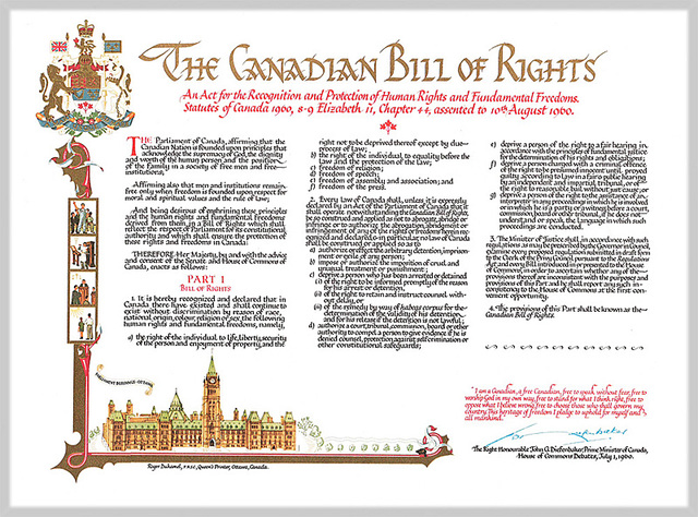 POSITIVE   The Canadian Bill of Rights