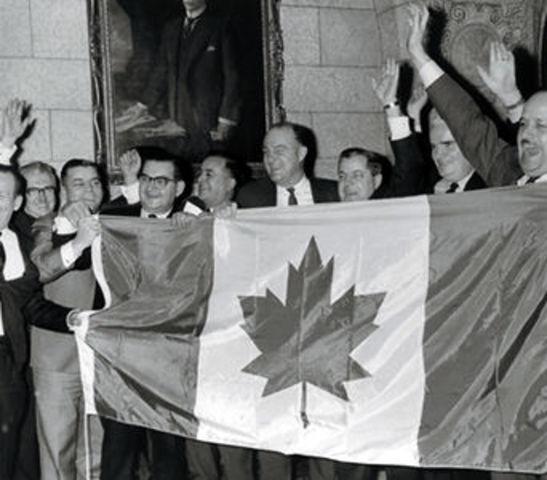 POSITIVE   Canada's New Flag