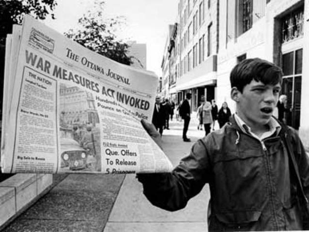NEGATIVE   The October Crisis