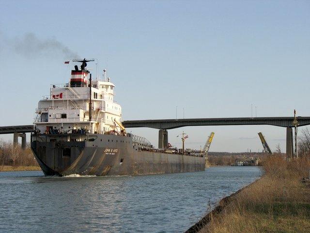 Welland Canal completed