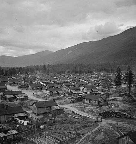 Japanese Canadians are put in Internment Camps