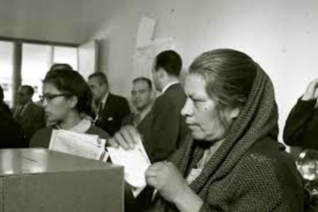 Voto a la mujer