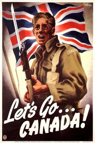 Canada enters WW2