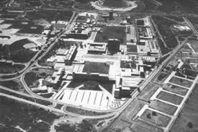 Se inaugura Ciudad Universitaria