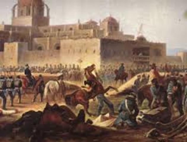 Comienza guerra México-Americana
