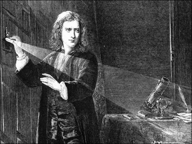 Isaac Newton: 1666