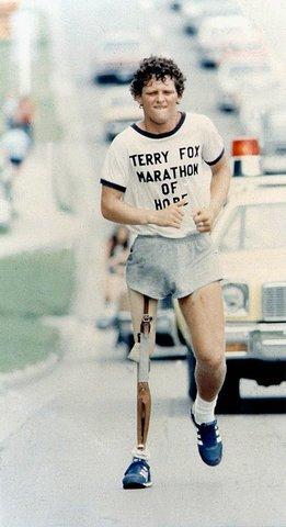 Terry Fox dies of cancer