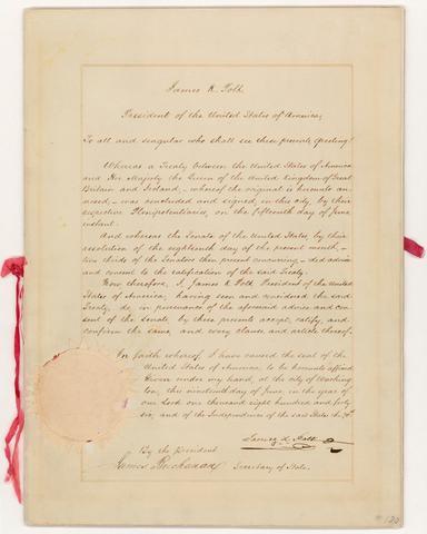 Oregon Treaty/49th Parrell