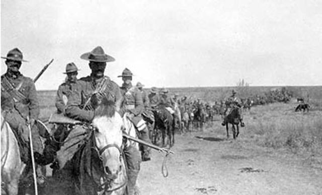 Canadian Troops sent to South Africa