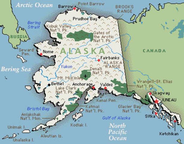 Canada loses Alaska