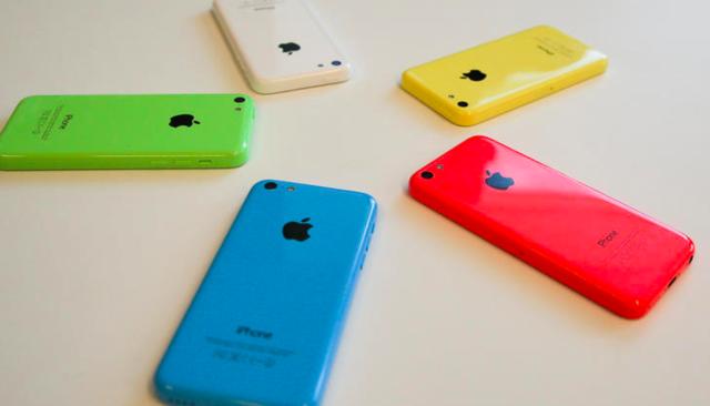 Recibí un iPhone 5C