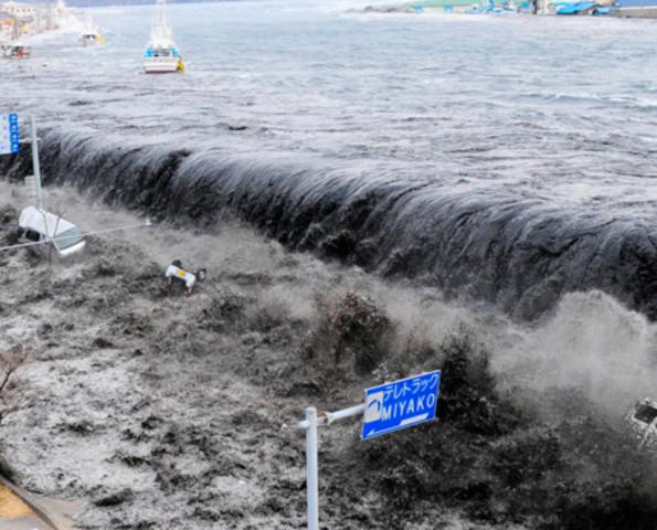 El terremoto de Japón