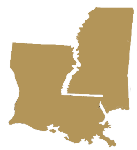 Mississsippi Valley and Louisiana Are Claimed