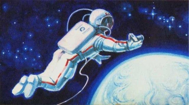 Выход человека в открытый космос