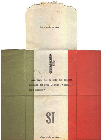 Il Plebiscito del 1929