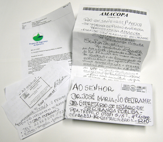 """""""Obrigado, UPP"""": Cartas de moradores agradecem pela pacificação"""