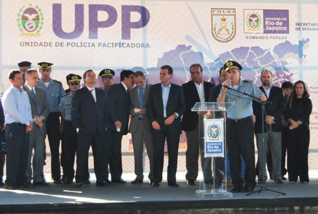 Inauguração da UPP Providência