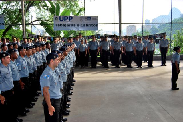 Inauguração UPP Tabajaras - Cabritos
