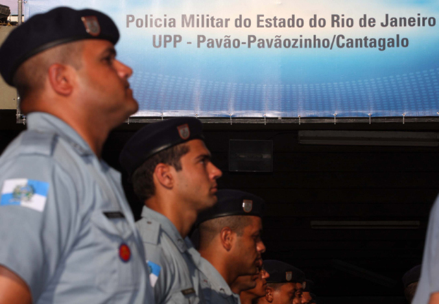 Inauguração da UPP Cantagalo - Pavão-Pavãozinho