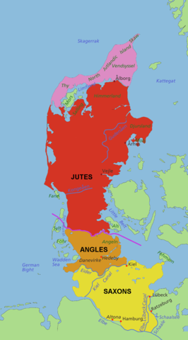 Angles, Jutes and Saxons Origins