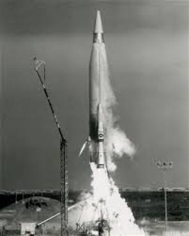 First ICBM