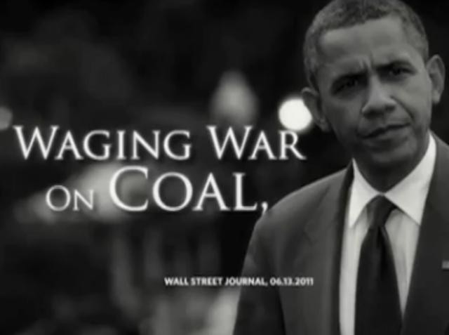 Obama on burying coal
