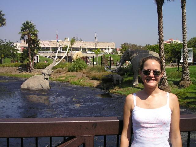 Visiit ed La Brea Tar Pits in Los Angeles, CA