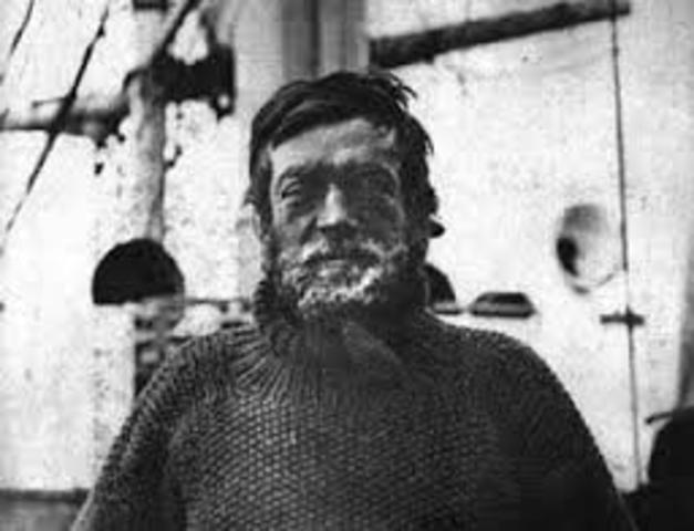 Mor Ernest Shackleton a South Georgia