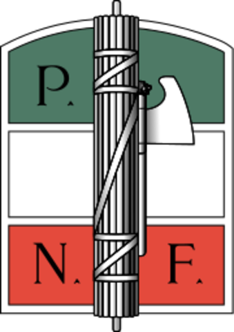 Nascita del Partito Nazionale Fascista