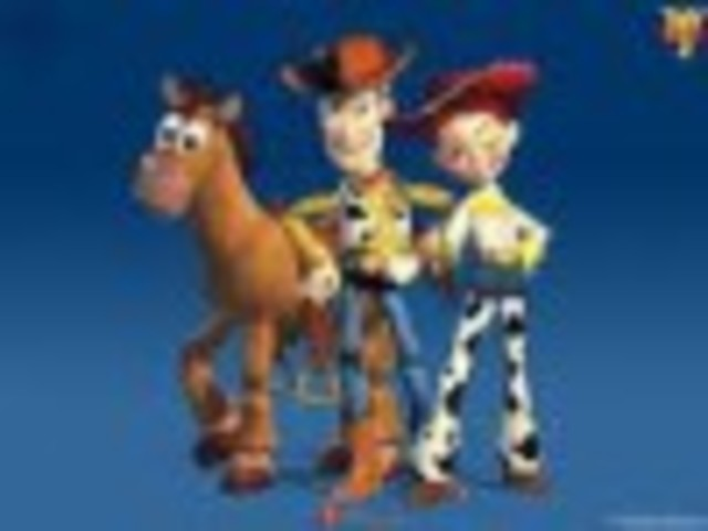 First feature length film made entirely by computer generated images was Toy Story