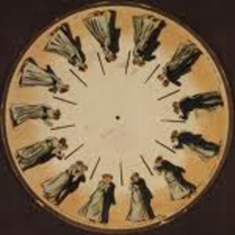 Eadweard Muybridge - phenakistoscope