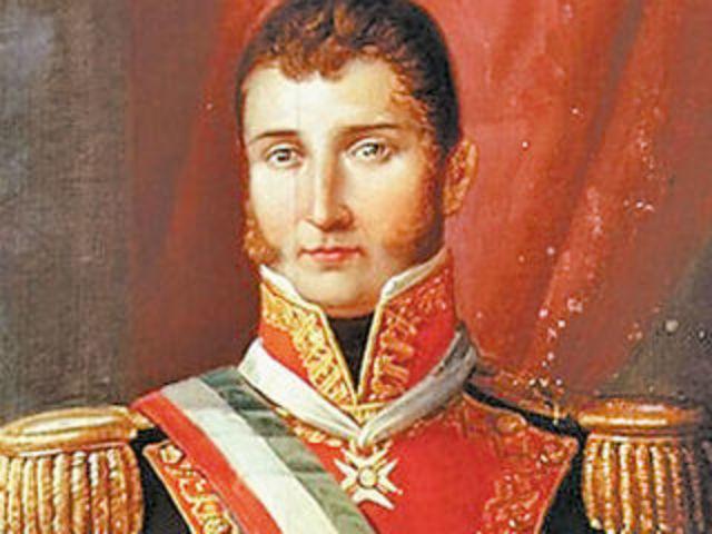 Agustín de Itúrbide, emperador de México