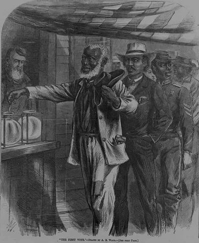 15th Ammendment Ratified: Blacks given Right to Vote!