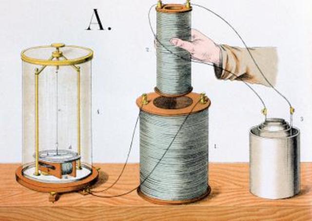 William Sturgeon invents the electromagnet