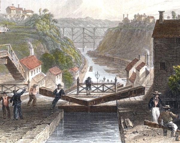 Erie Canal opened