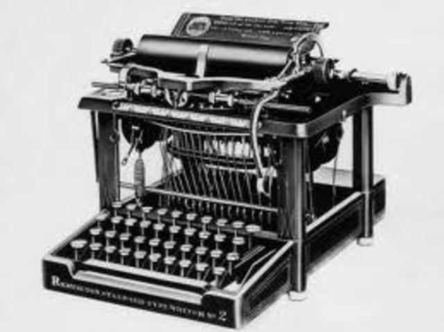 W.A. Burt invents a typewriter