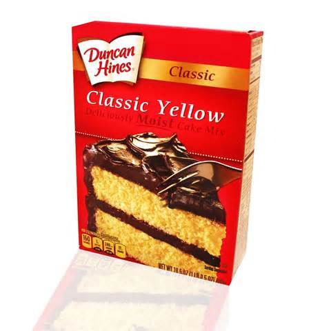 Duncan Hines Cake Mix Invented