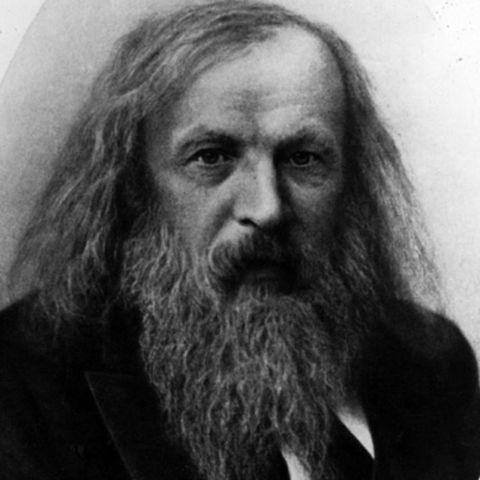 Dimitri Mendellev used John Newlands' grouping and organized the elements into what is now known as the periodic table.