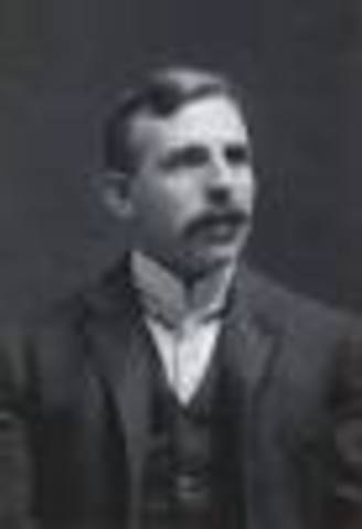 Ernest Rutherford decided that radioactivity is what caused atoms to be broken down.