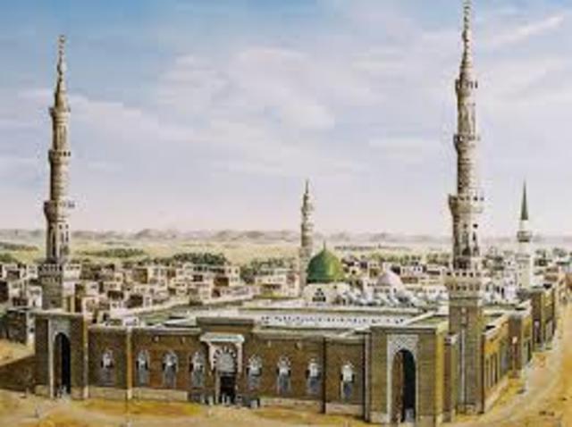 Muhammad travels