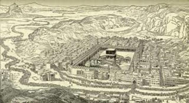 Muhammad takes over Mecca