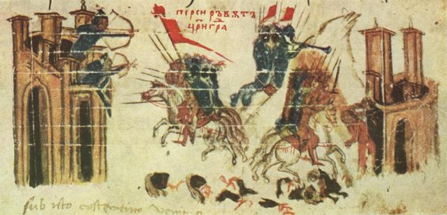 Persia attacks Constantinople, but unable to breach the walls.