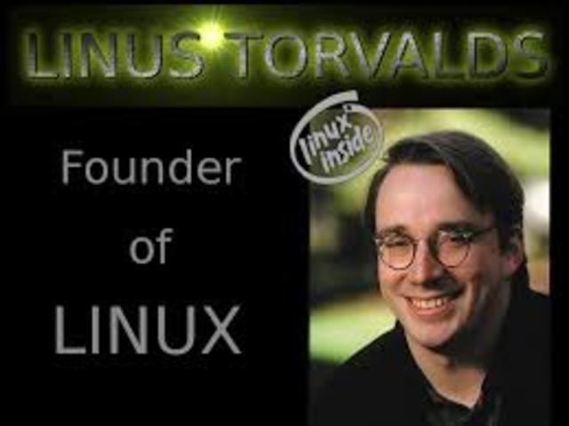 Nace el creador de Linux