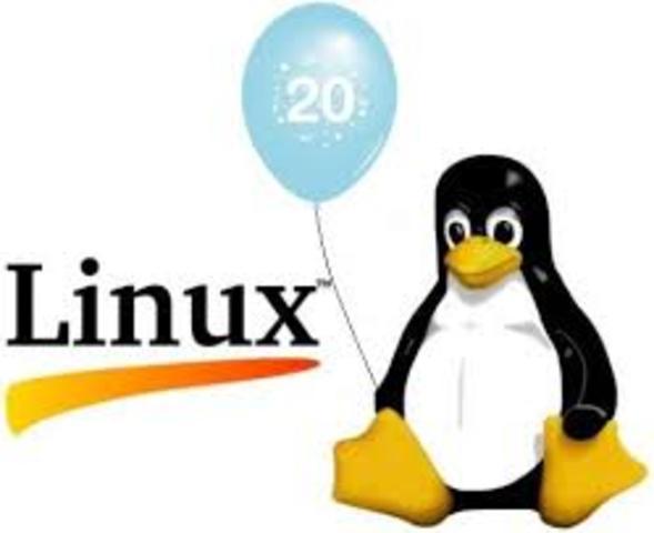 Aparece version 2.0 del núcleo Linux es liberada.