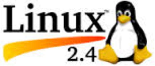 Se libera la serie 2.4 del núcleo Linux