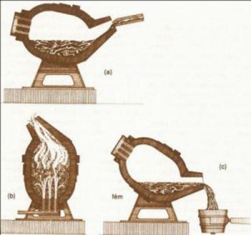 Bessemer inventa un forn que permet obtenir un acer molt resistent