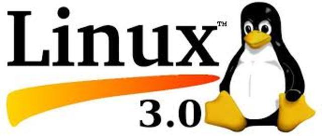Se lanza la version 3.0 de Linux