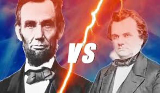 The Great Debate : Lincoln Verus Douglas