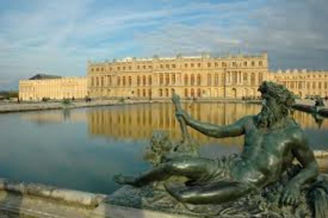 HISTOIRE DES ARTS : Le Chateau de Versailles